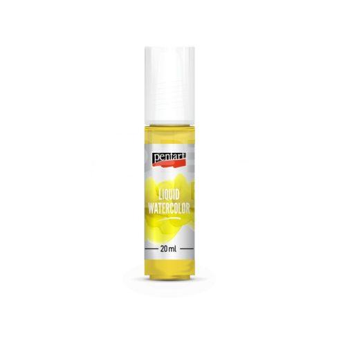 Pentart Folyékony vízfesték (LIQUID WATERCOLOR) 20 ml citrom 36059