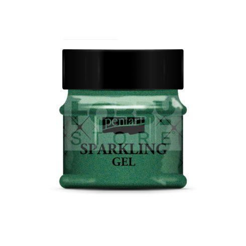 Pentart Csillogó gél 50 ml zöld arany 36078