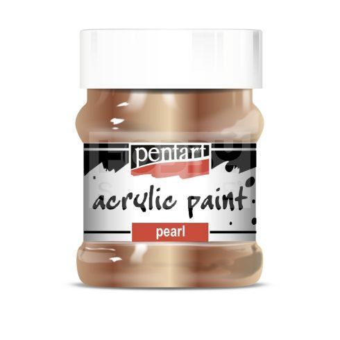 Pentart Metál antikarany színű akril bázisú hobbi festék 230 ml