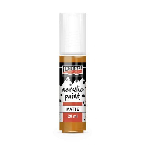 Pentart Matt sárgásvörös agyag színű akril bázisú hobbi festék 20 ml 4324