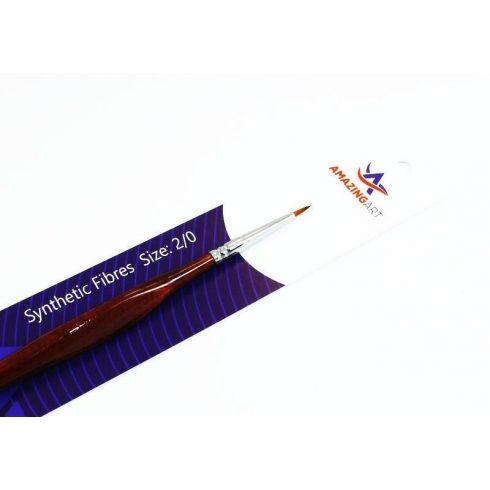 AMAZING ART Toray 00-ás méretű szintetikus ecset makettezéshez