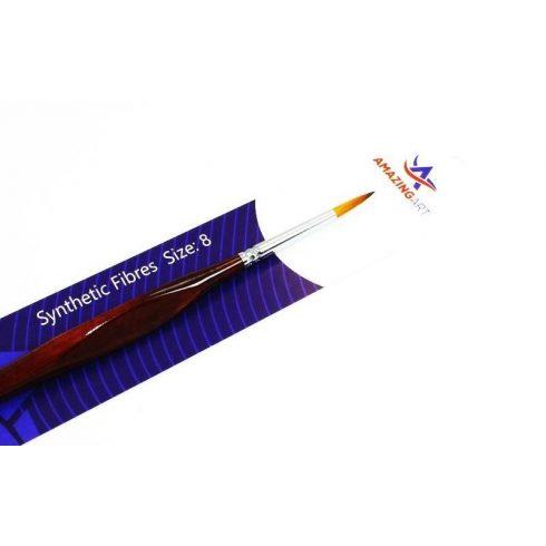 AMAZING ART Toray 8-as méretű szintetikus ecset makettezéshez