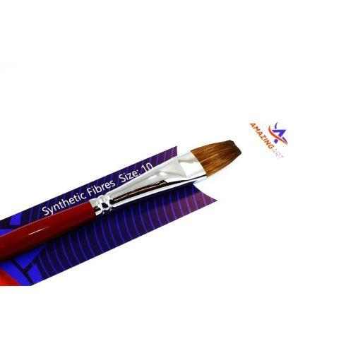AMAZING ART 10-es méretű szintetikus lapos ecset makettezéshez