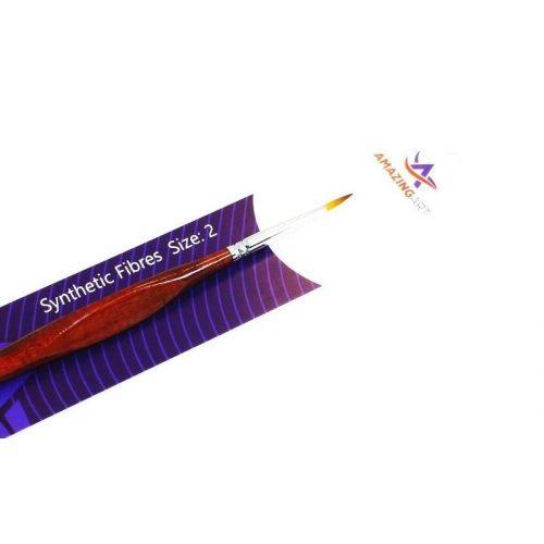 AMAZING ART Toray  2-es méretű szintetikus ecset makettezéshez