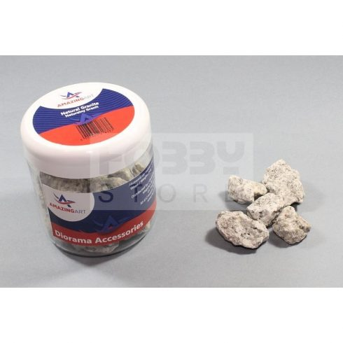 AMAZING ART Natural Granite Stone (size 4) makettezéshez-dioráma készítéshez