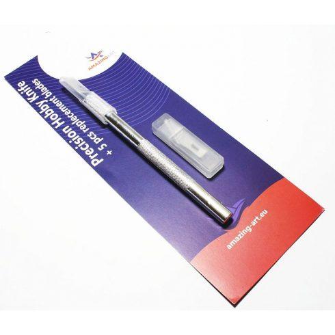 AMAZING ART Precíziós szike makettezéshez (Hobby Knife) (2)