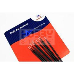 AMAZING ART Weathering Micro Brush ecset szett (25 darab) 5902641619601