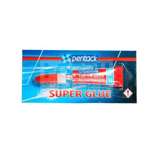 Pentack Super Glue pillanatragasztó 3 g