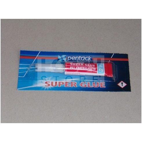 Pentack Super Glue pillanatragasztó 2 g