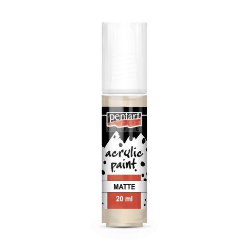Pentart Matt bézs színű akril bázisú hobbi festék 20 ml 82