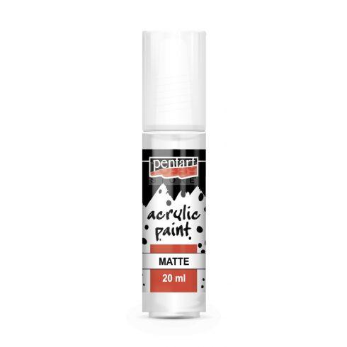 Pentart Matt fehér színű akril bázisú hobbi festék 20 ml 83