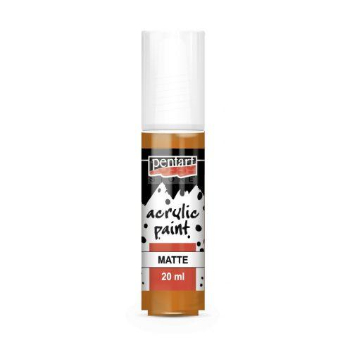 Pentart Matt narancs színű akril bázisú hobbi festék 20 ml 84