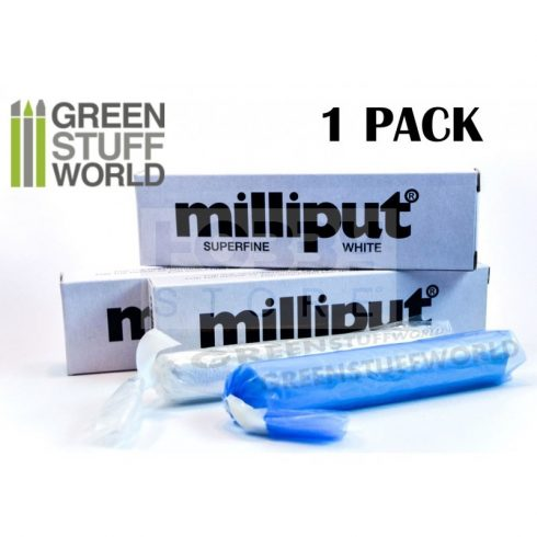 Milliput Superfine White két komponensű epoxy tömítő formázó gitt