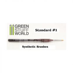 Green Stuff World Brushes Standard 1 Synthetic (Szintetikus hobbi ecset 1)