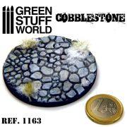 Green Stuff World ROLLING PIN COBBLESTONE textúrált formázó rúd (macskakő mintájú)