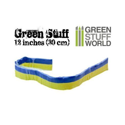 Green Stuff World GREEN STUFF (30) két komponensű tömítő formázó putty 30 cm