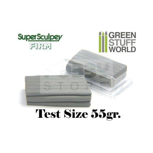 Green Stuff World Super Sculpey Firm Grey (extra keménységű) 55 gr süthető formázó gyurma