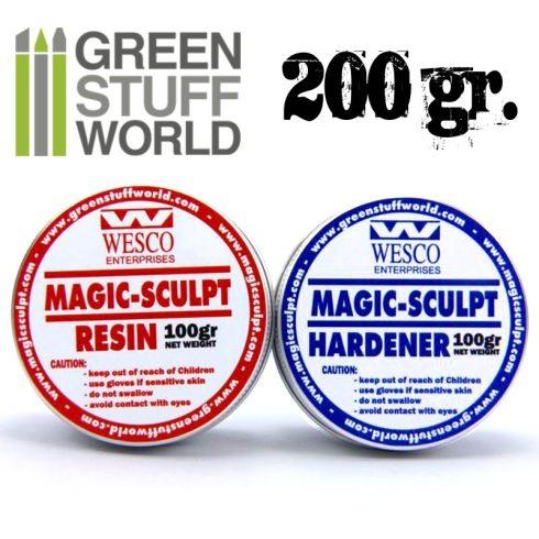 Green Stuff World Magic Sculpt két komponensű tömítő formázó gitt 200g