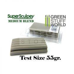 Green Stuff World Super Sculpey Medium Blend (átlagos keménységű) 55 gr süthető formázó gyurma