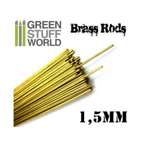 Green Stuff World 1.5 mm-es réz profil (rúd)