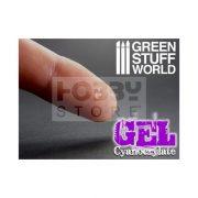 Green Stuff World Gél állagú CA pillanatragasztó (Cyanocrylate Adhesive - GEL formula - with precision tips)