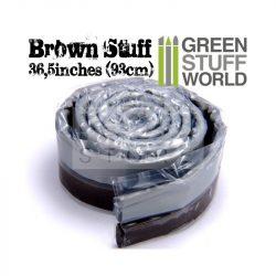 Green Stuff World Brown STUFF (93 cm) két komponensű tömítő formázó putty 93 cm