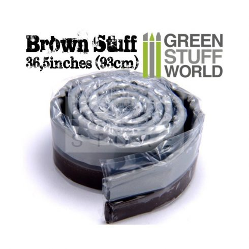 Green Stuff World Brown STUFF (93 cm) két komponensű tömítő formázó putty 93 cm
