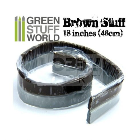 Green Stuff World Brown STUFF két komponensű tömítő formázó putty 46 cm