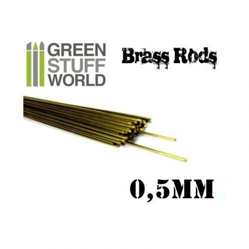 Green Stuff World 0.5 mm-es réz profil (rúd)