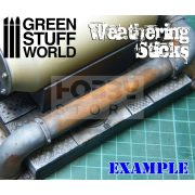 Green Stuff World Weathering Brush (weathering ecset) 15 mm-es