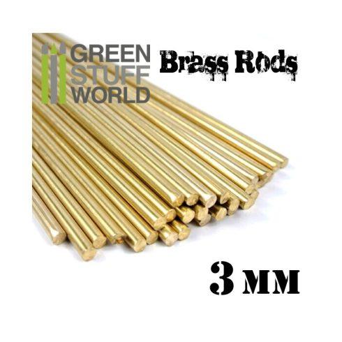Green Stuff World 3 mm-es réz profil (rúd)