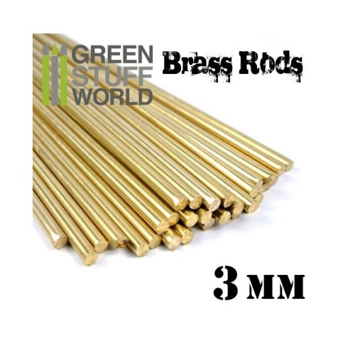 Green Stuff World 3 mm-es réz profil (rúd)