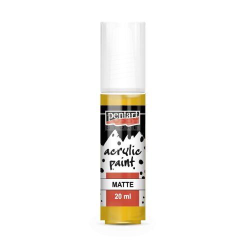 Pentart Matt napsárga színű akril bázisú hobbi festék 20 ml 86