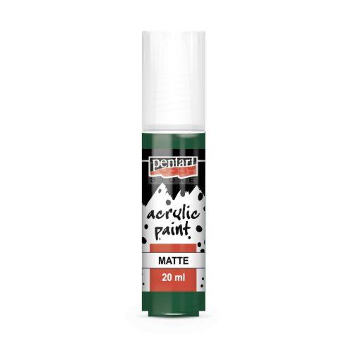 Pentart Matt fenyőzöld színű akril bázisú hobbi festék 20 ml 91