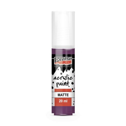 Pentart Matt lila színű akril bázisú hobbi festék 20 ml 96