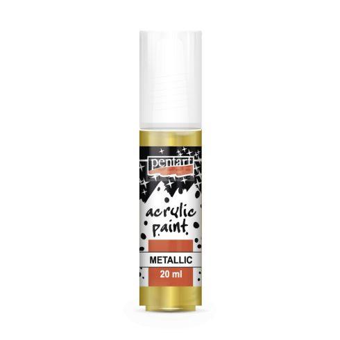 Pentart Metál arany színű akril bázisú hobbi festék 20 ml