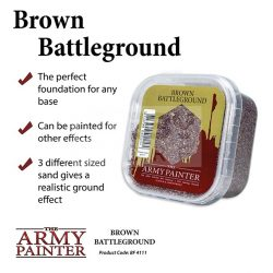 The Army Painter Basing: Brown Battleground-Barna homok base készítéshez BF4111