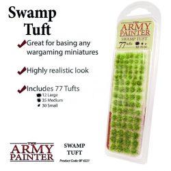 The Army Painter Realisztikus SWAMP TUFT- mocsári zöld színű fűcsomók diorámához 77 darab BF4221