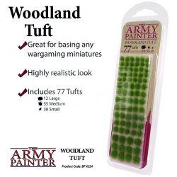 The Army Painter Realisztikus WOODLAND TUFT- erdei fűcsomók diorámához 77 darab BF4224
