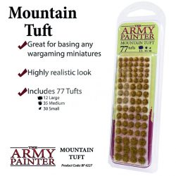 The Army Painter Realisztikus Mountain TUFT- fűcsomók diorámához 77 darab BF4227
