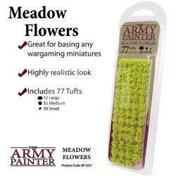 The Army Painter Realisztikus MEADOW FLOWER TUFT- tavaszi virágcsomók diorámához 77 darab BF4231
