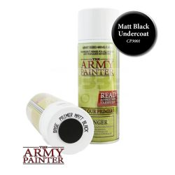 The Army Painter Base Primer - Matt Black alapozó Spray (fekete) CP3001