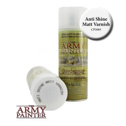 The Army Painter Base Primer - Anti-Shine, Matt Varnish matt lakk spray CP3003