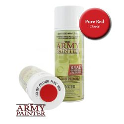 The Army Painter Colour Primer - Pure Red alapozó Spray CP3006
