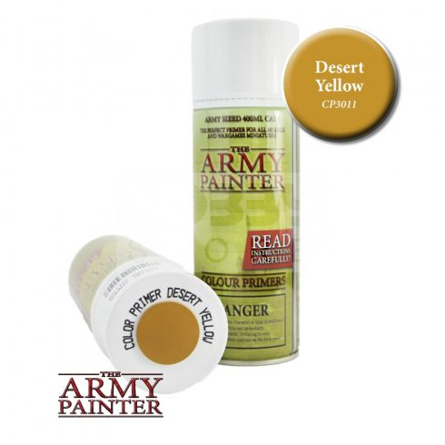 The Army Painter Colour Primer - Desert Yellow alapozó Spray CP3011