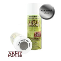 The Army Painter Colour Primer - Gun Metal alapozó Spray CP3025