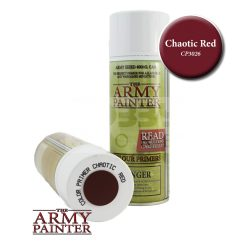 The Army Painter Colour Primer - Chaotic Red alapozó Spray CP3026