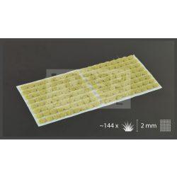 Gamers Grass TUFTS Realisztikus Beige 2mm-Bézs színű fűcsomók diorámához-Small 144 darab (2 mm self-adhesive -BEIGE)