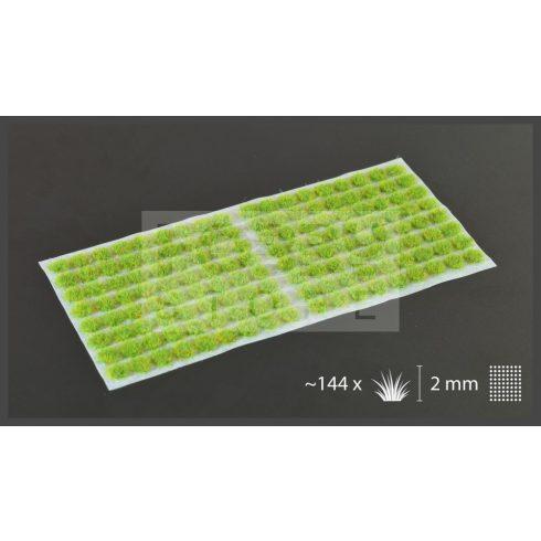 Gamers Grass TUFTS Realisztikus Bright Green 2mm - Világos Zöld színű fűcsomók diorámához-Small 144 darab (2 mm self-adhesive - BRIGHT GREEN)