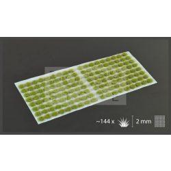 Gamers Grass TUFTS Realisztikus Dry Green 2mm - fűcsomók diorámához-Small 144 darab (2 mm self-adhesive - DRY GREEN)